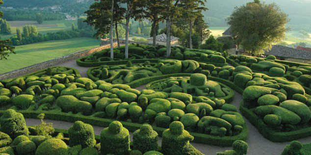 Royal Gardens of Marqueyssac, France