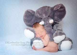 Cuddling with Stuffed Animal