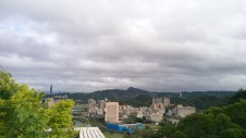 View from the roof of my dorm building