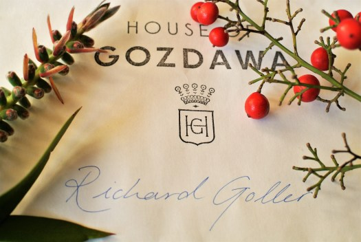 Delivery from House of Gozdawa.
