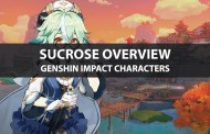 Sucrose's Ascension Materials, Talents, Stats, And Ratings