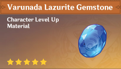 Varunada Lazurite Gemstone