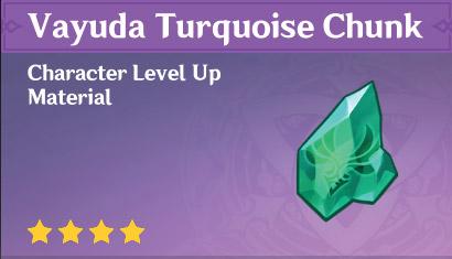Vayuda Turquoise Chunk