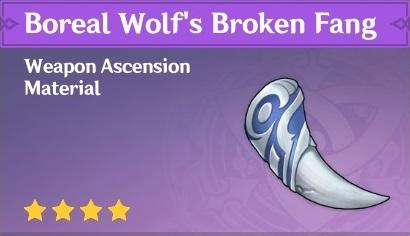 Boreal Wolf's Broken Fang