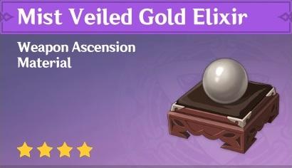 Mist Veiled Gold Elixir