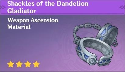 Shackles of the Dandelion Gladiator