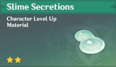 Slime Secretions