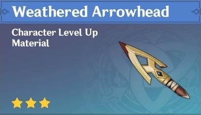 Weathered Arrowhead