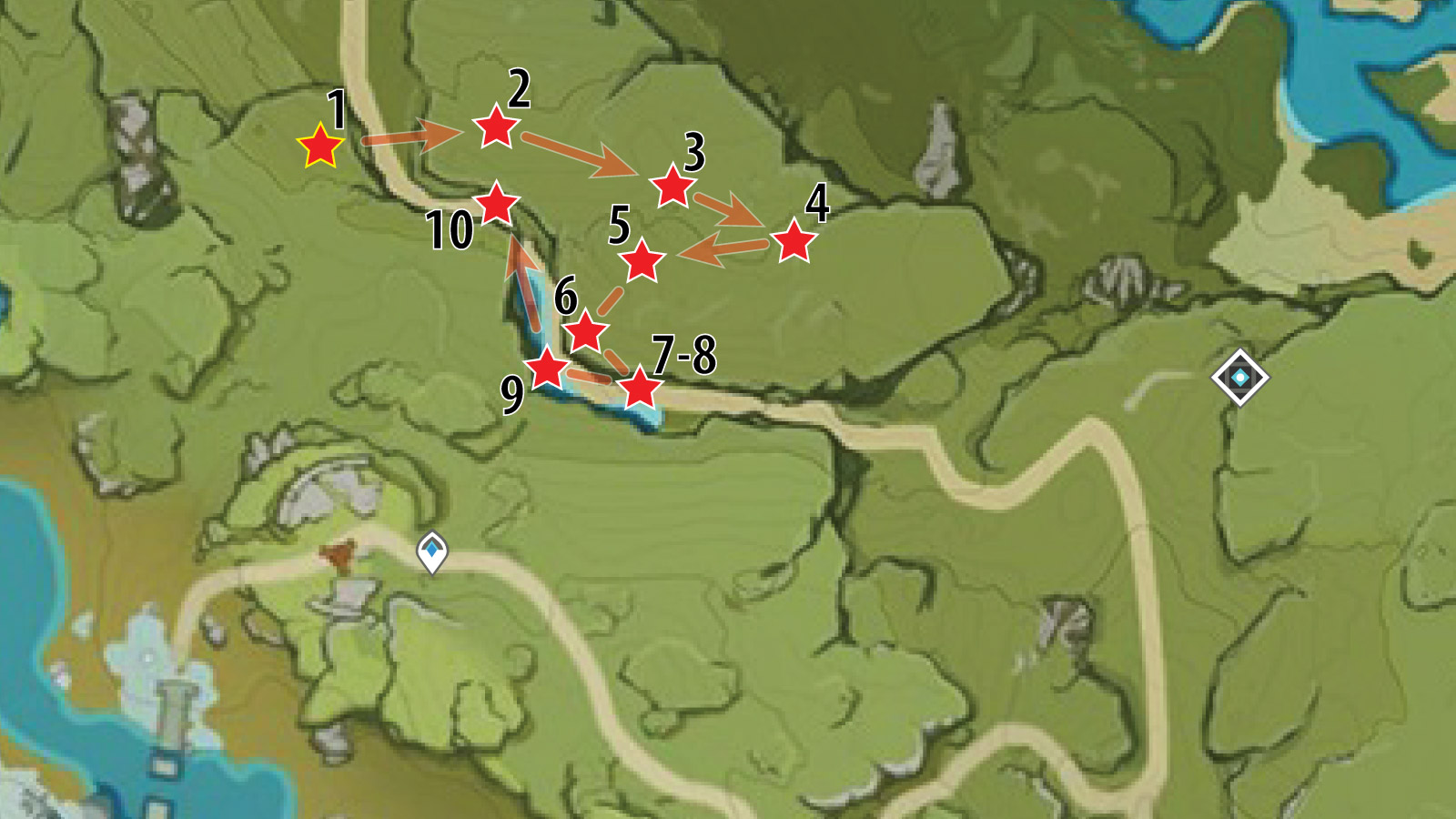 Dadaupa Gorge Chests Location
