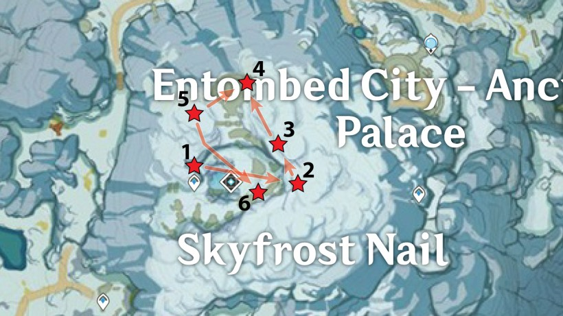 Skyfrost Nail - Center Crimson Agate Locations