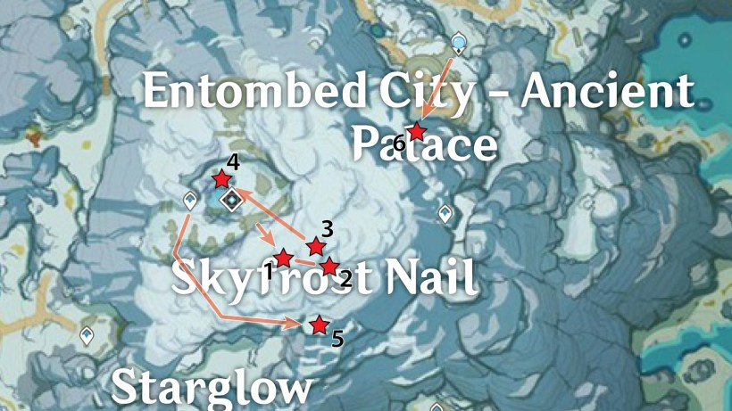 Skyfrost Nail – Summit Crimson Agate Locations