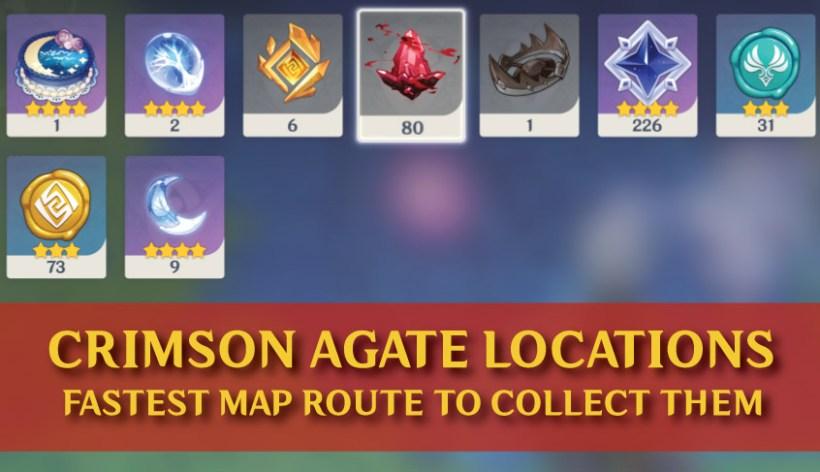 crimson agate locations