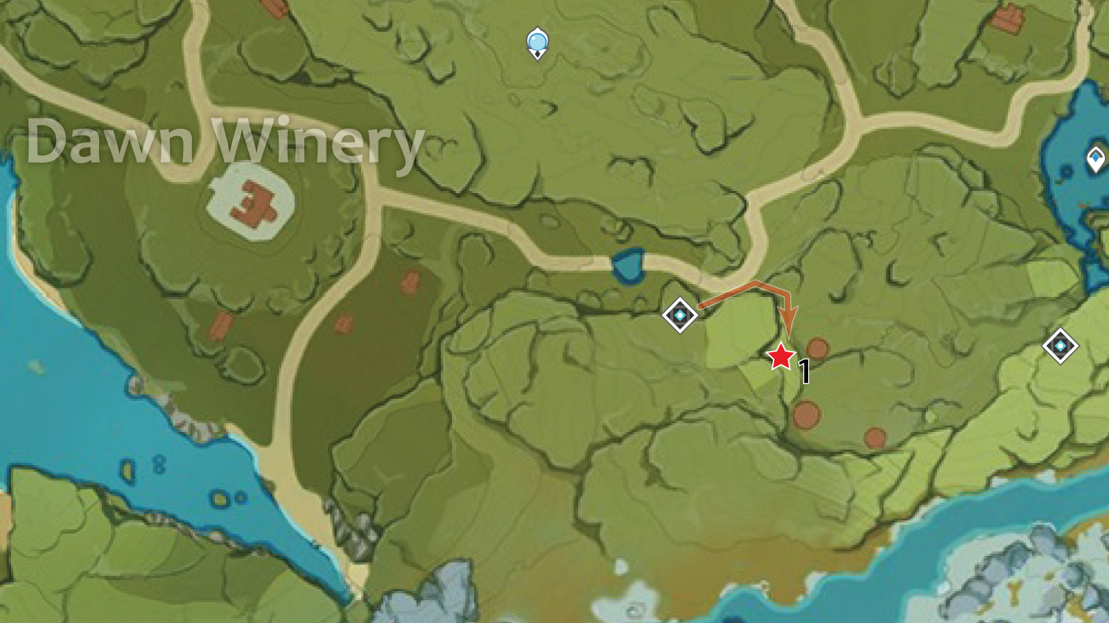 Dawn Winery Crystal Chunk Farming Route