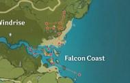 Falcon Coast Chest Locations In Genshin Impact