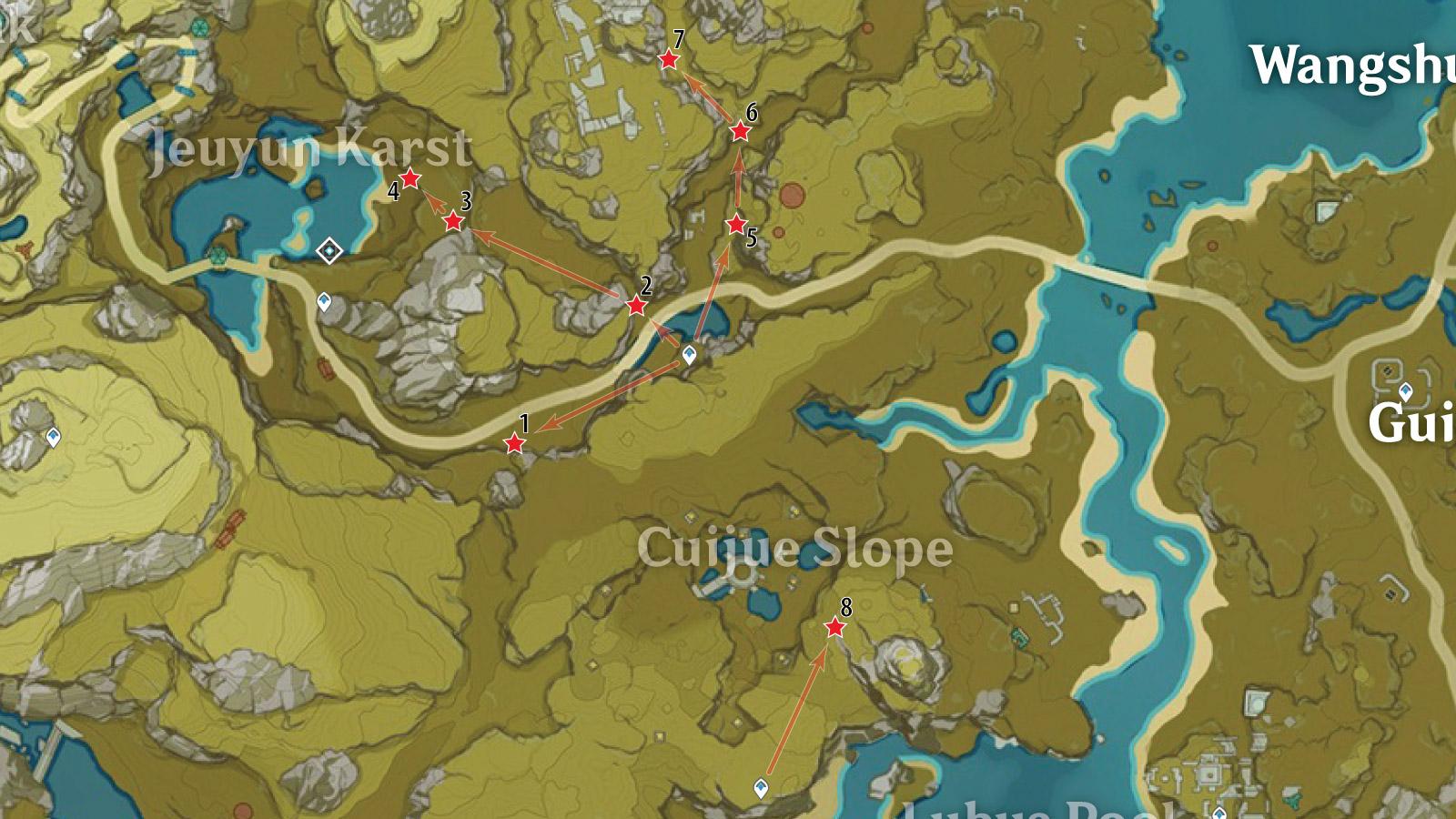 Jeuyun Karst White Iron Farm Route