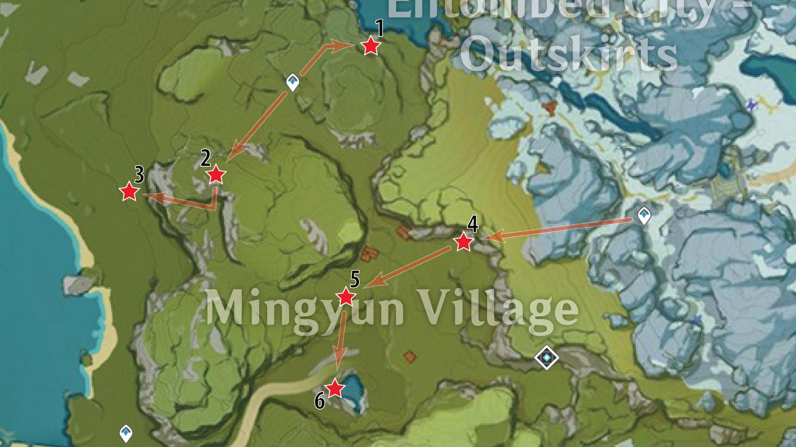 Mingyun Village White Iron Farm Route