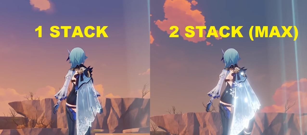eula elemental skill stacks