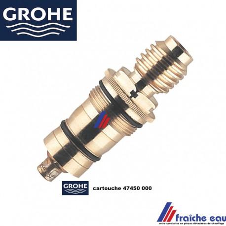 cartouche element thermostatique 47450 000pour robinet de salle de bain grohe a ottignies nivelles louvain gembloux