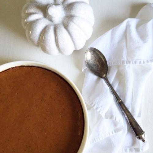 Crustless Pumpkin Pie (Gluten-Free)