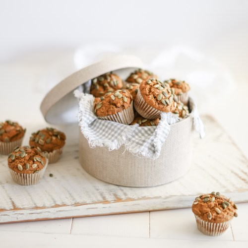 Pumpkin Muffins with a gluten free and vegan option. Simple and easy for fall breakfasts!