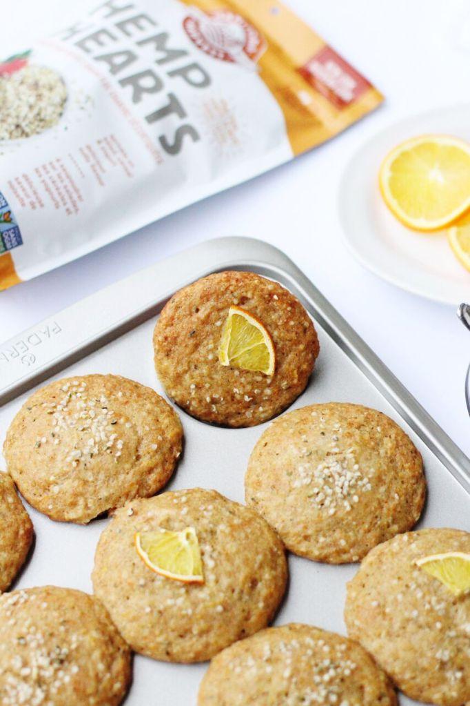 Orange Hemp Muffins & 10 Other Ways to Use Hemp Hearts (plus a giveaway)!