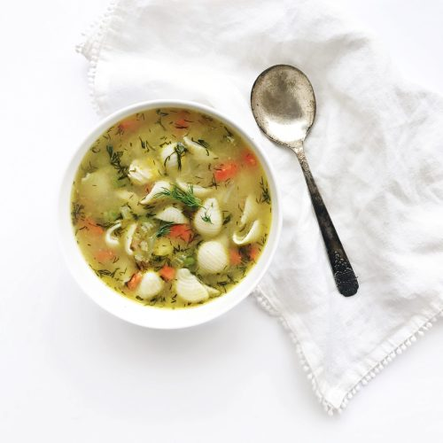 Cheater Chicken Noodle Soup