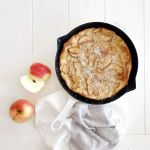 Apple Cinnamon Clafoutis and ways to fuel your growing active teen child!