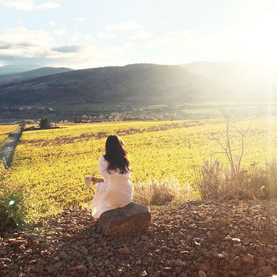 Planning a romantic fall BC winery getaway .