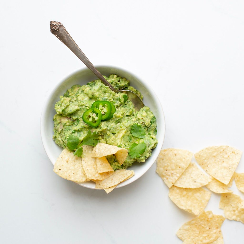 Cheryl's Guacamole - a perfect zippy and slightly spicy guacamole that will be a crowd favourite and is naturally gluten free and vegan!