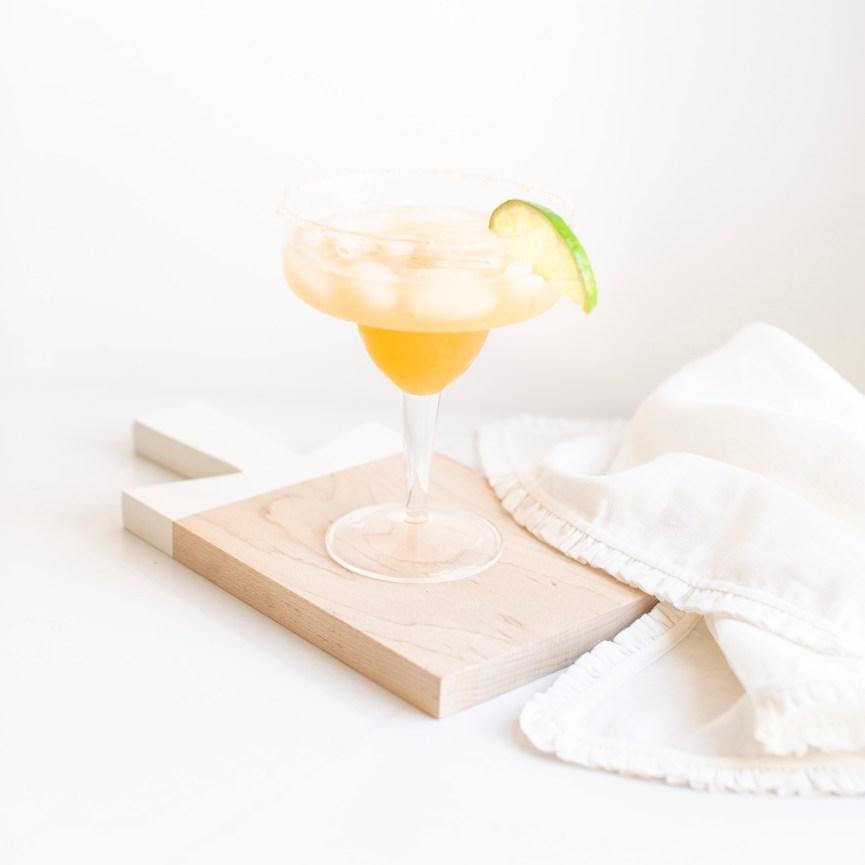 Mixed Citrus Margarita on the Rocks