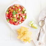 Watermelon Ceviche: a vegan version of the Spanish classic!
