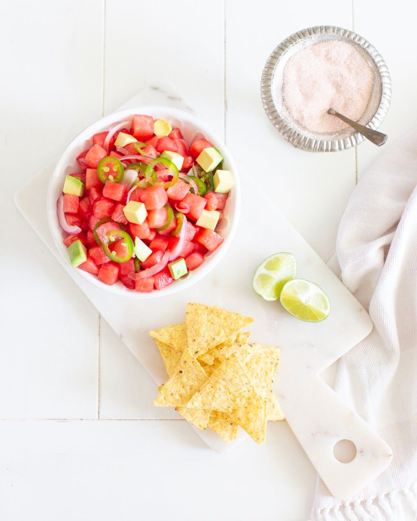 Watermelon Ceviche: a vegan version of the Spanish classic!