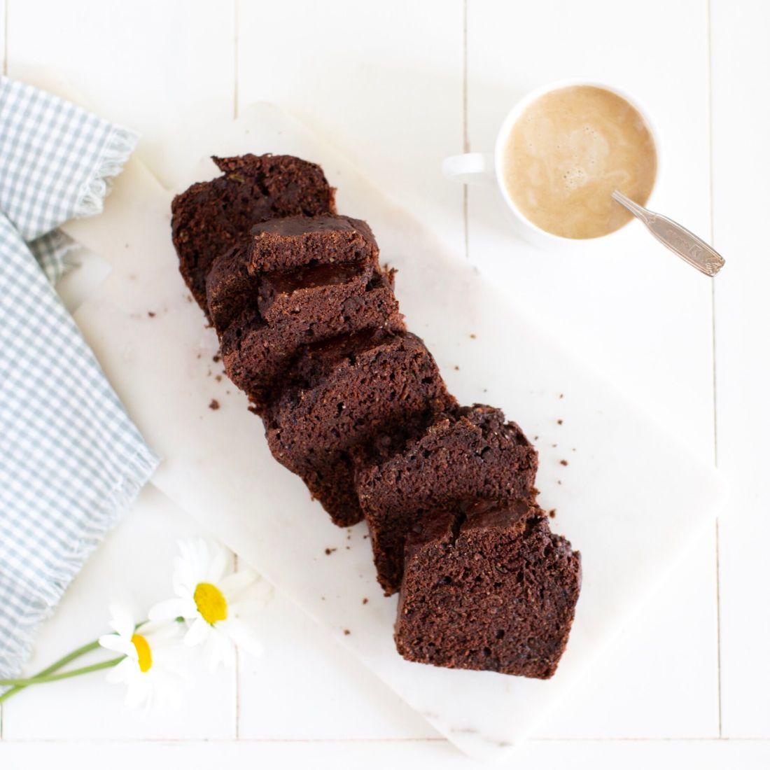 Double Chocolate Omega-3 Zucchini Bread