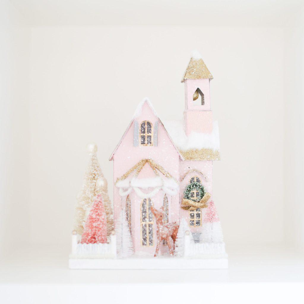 Pink Miniature Home