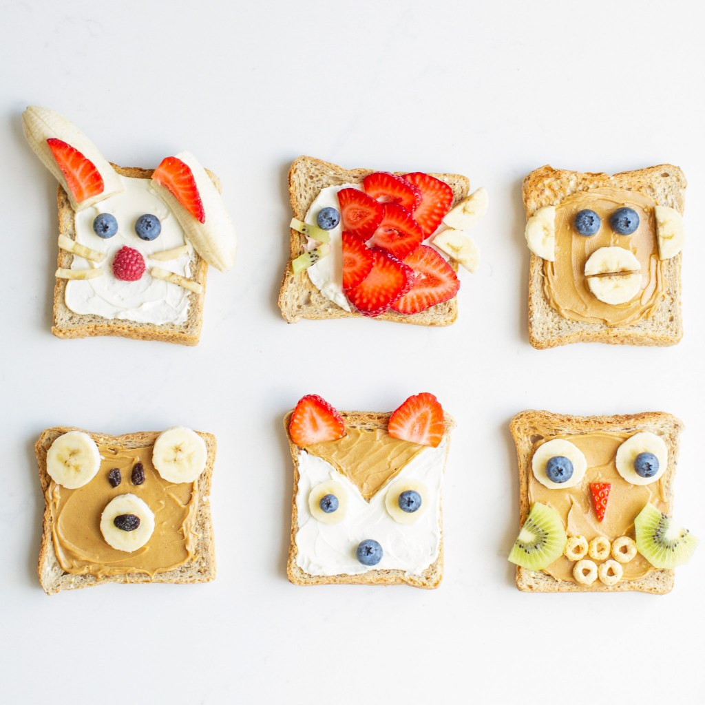How to make animal toasts
