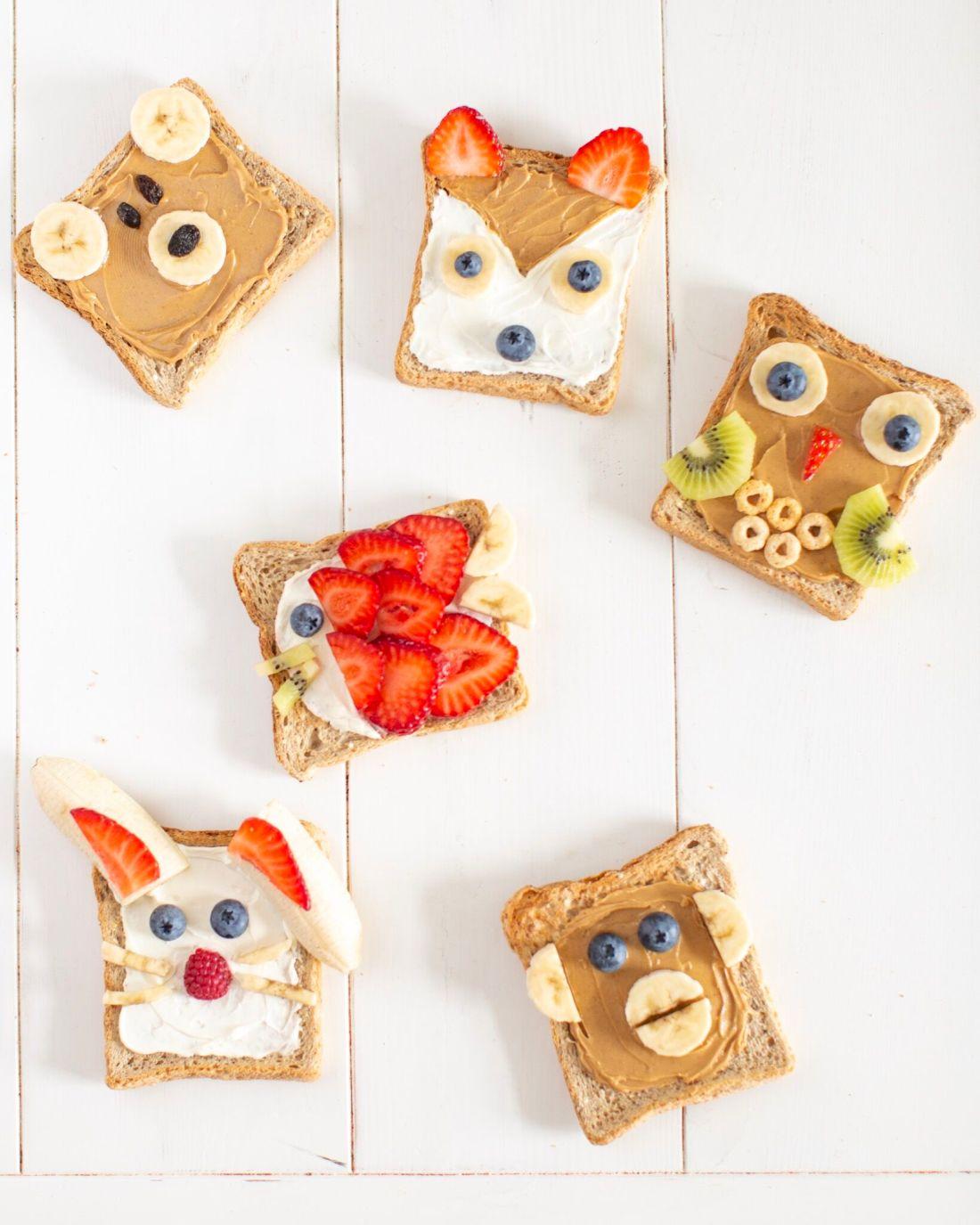 How to make animal toast