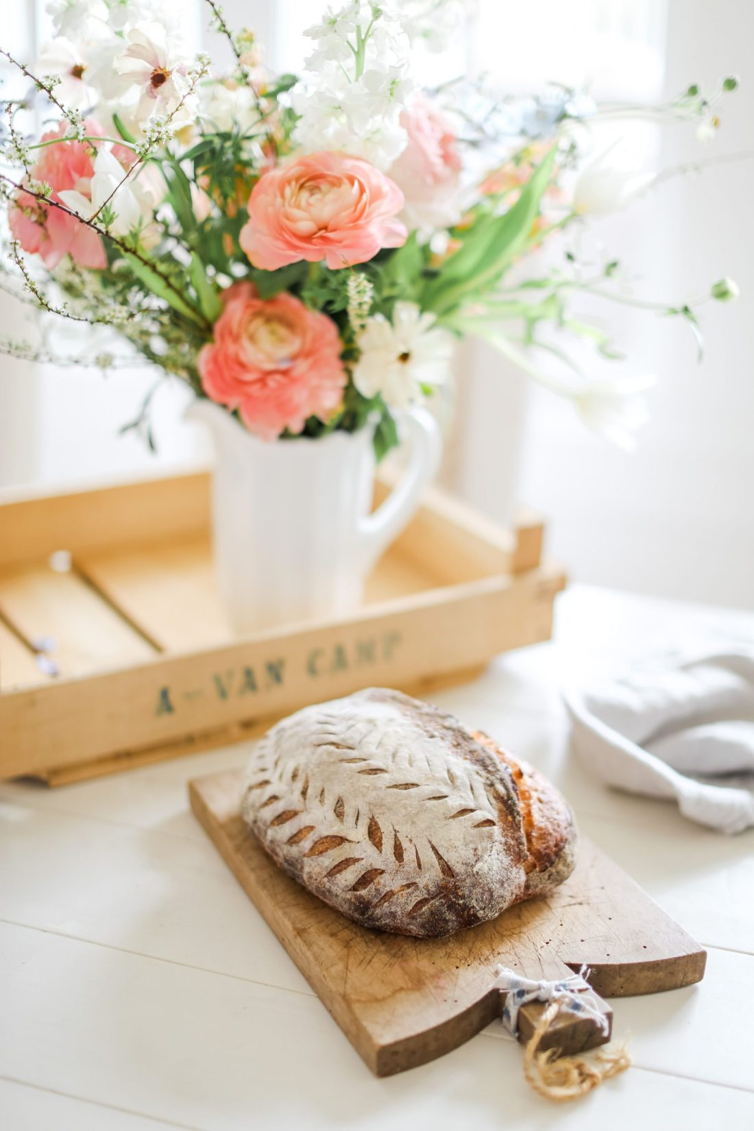 Fool proof way to make a sourdough starter for stunning aritisan bread at home