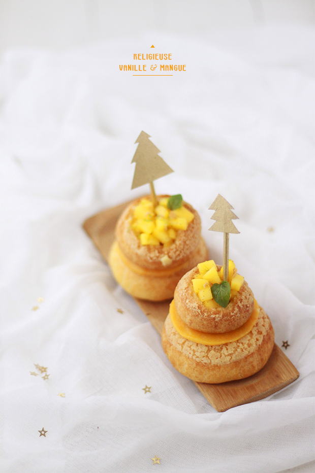Religieuse-vanille-mangue3