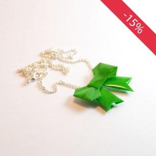 Noeud vert - Collier