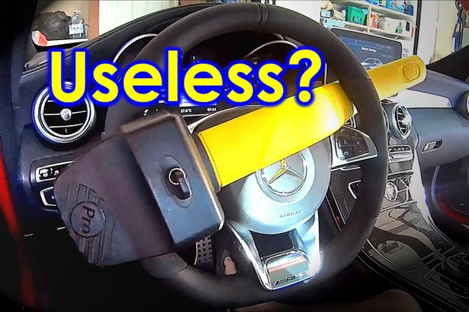 Blog_Cars_Aren't they Low Tech Obsolete Top Steering Wheel Lock Stoplock Pro to stop Keyless car theft