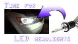 Easy LED Headlight Bulb Install upgrade DIY how-to - LED vs HID vs Halogen Headlights