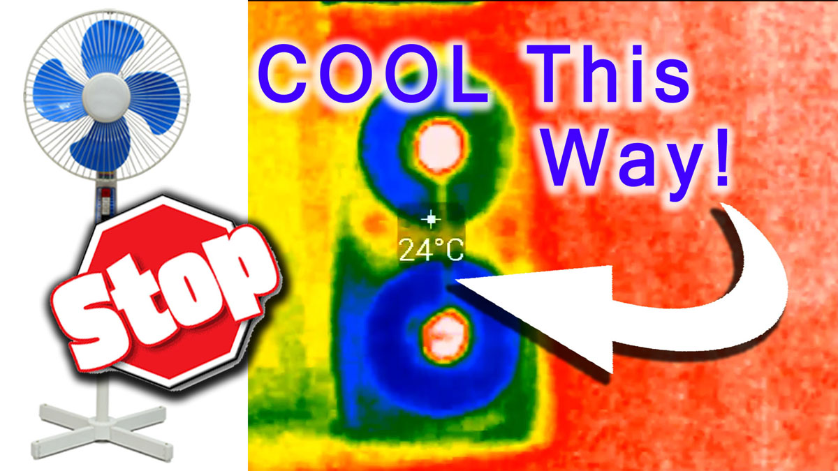 Blog_DIY_Too HOT – Cool your room Properly. How to Stop blowing hot Air in house Natural AC with Window Fans