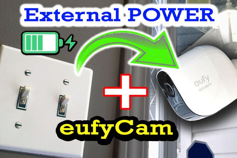 Blog_Tech_DIY eufy External Power install - Wire free Security Camera charging 24x7 - How-to guide eufy Cam E