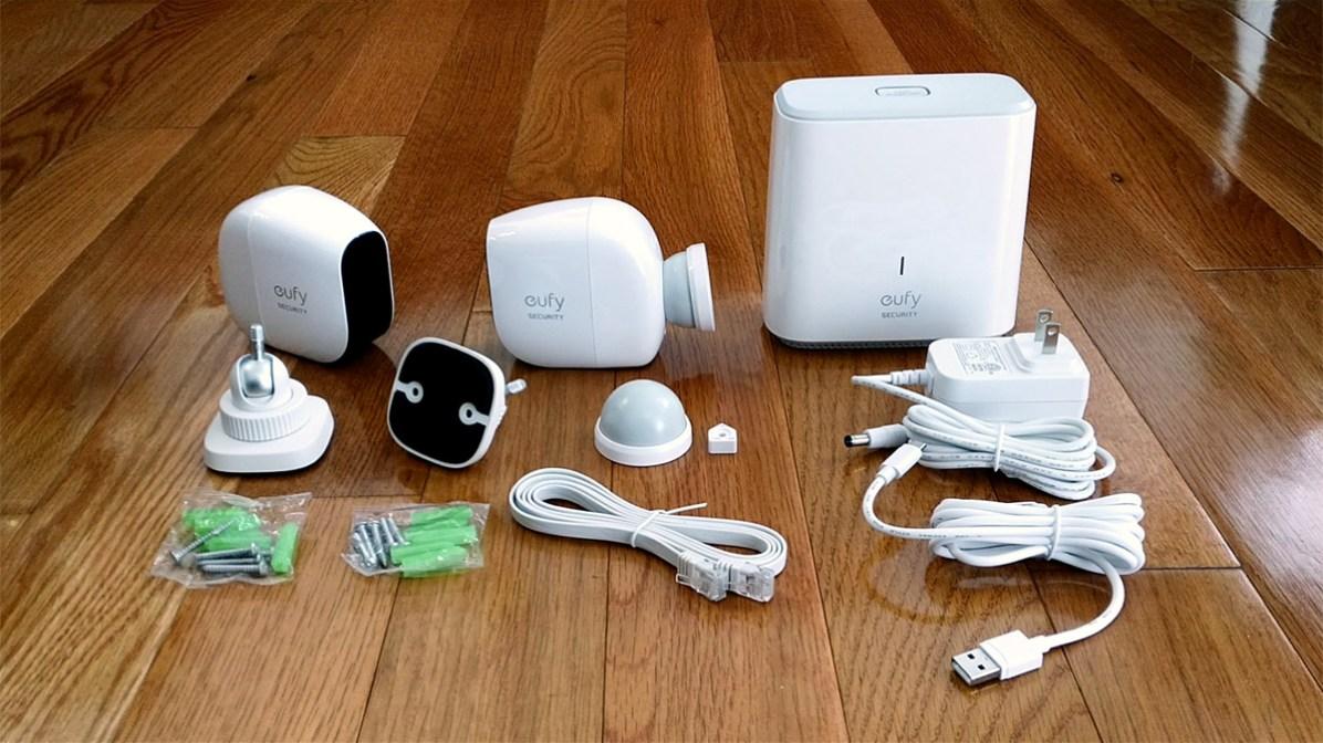 EufyCam E Wire-free Smart Home Security Camera system