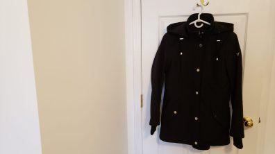 Rain/water resistant hooded coat