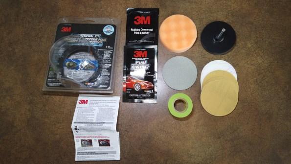 3M Headlight Lens Renewal kit