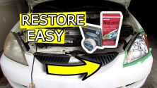 How to Restore Headlights to NEW - Fix hazy, scratched lens with Easy DIY Headlight Renewal kits