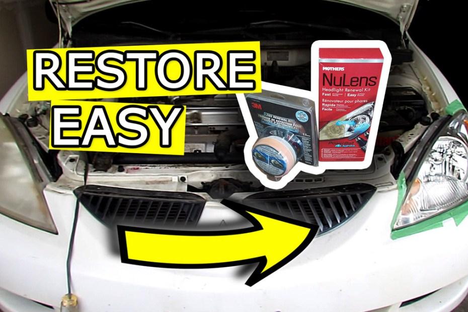 Blog_Cars_How to Restore Headlights to NEW - Easy DIY Headlight Renewal kits B