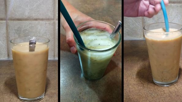 Homemade bubble milk tea at home from scratch