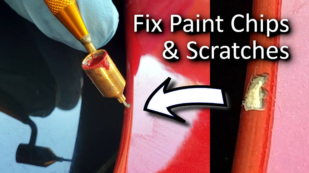 Blog_Cars_Easy Car paint touch-up! How to Repair Car Paint Rock Chips & Scratches + Real world tips